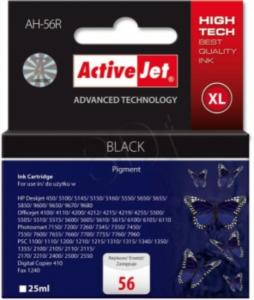 ActiveJet črno črnilo HP C6656A 56