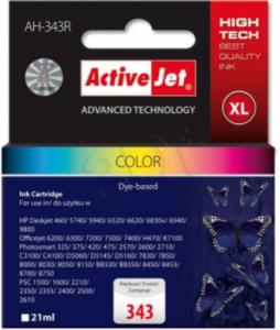 ActiveJet komplet barvnih črnil HP C8766EE 343