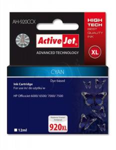ActiveJet cyan črnilo HP CD972 920 XL