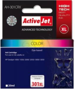 ActiveJet komplet barvnih  črnil HP CH564 301XL