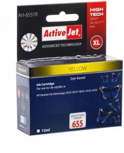 ActiveJet rumeno črnilo HP 655