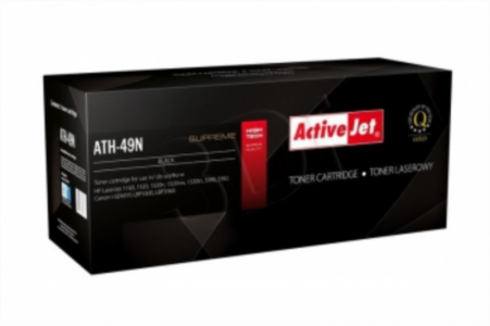 ActiveJet črn toner HP Q5949A  in Canon, 49A