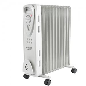 Adler oljni radiator 2500W bel