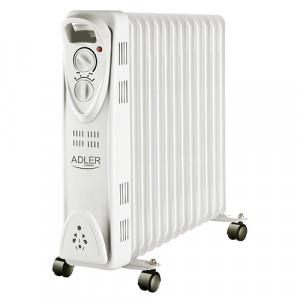 Adler oljni radiator 2500W siv AD7811
