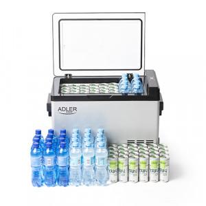 Adler prenosen hladilnik/hladilna skrinja s kompresorjem 40L AD 8077