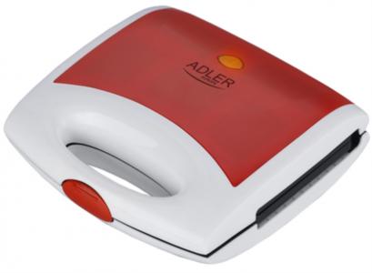 Adler toaster rdeč 750W