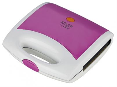 Adler toaster vijoličen 750W