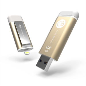 Adam Elements iKlips 64GB konektor Apple Lightning in USB3.0