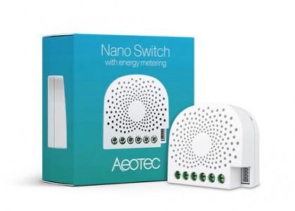 AEOTEC Dual Nano Switch z merjenjem porabe  ZW132