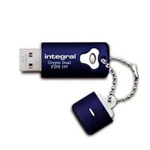 INTEGRAL CRYPTO DUAL 16GB USB2.0 FIPS197 spominski ključek