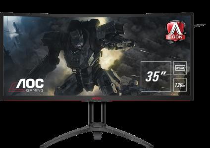 AOC AGON AG352UCG6 35'' MVA ukrivljen gaming monitor