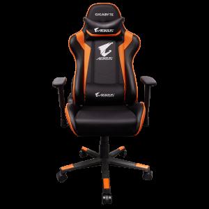GIGABYTE AORUS AGC300 Gaming stol - črno/oranžen