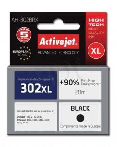ActiveJet črno črnilo HP 302XL F6U68AE