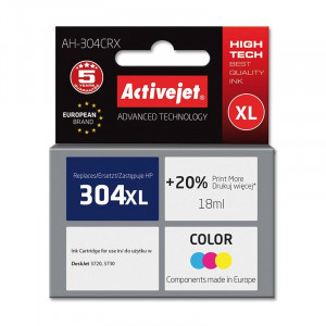 ActiveJet barvno črnilo HP 304XL N9K07AE