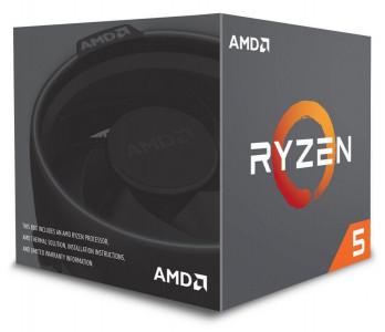 AMD procesor Ryzen 5 2600 z Wraith Stealth hladilnikom