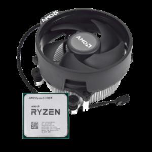 AMD Ryzen 5 3500X procesor z Wraith Stealth hladilnikom - MPK