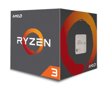 AMD Ryzen 3 1300X procesor z Wraith Stealth hladilnikom
