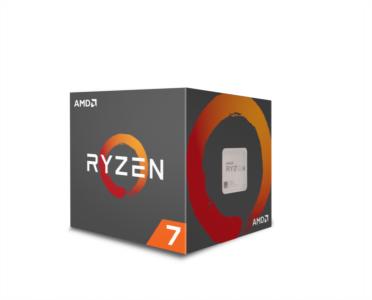 AMD Ryzen 7 1700 procesor z Wraith Spire 95W hladilnikom