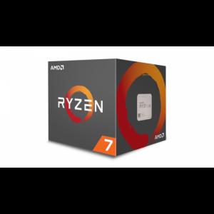 AMD Ryzen 7 2700 procesor z Wraith Spire LED hladilnikom