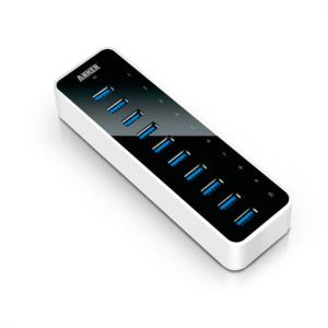 Anker USB 3.0 9-port + 1 charging port hub