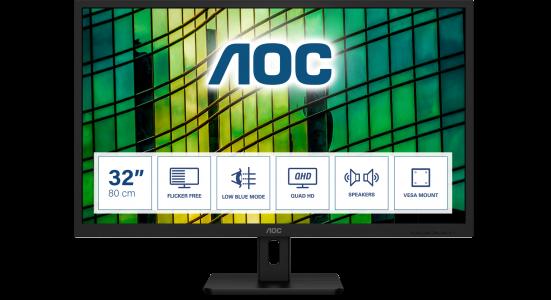 "AOC Q32E2N 31,5"" IPS monitor"