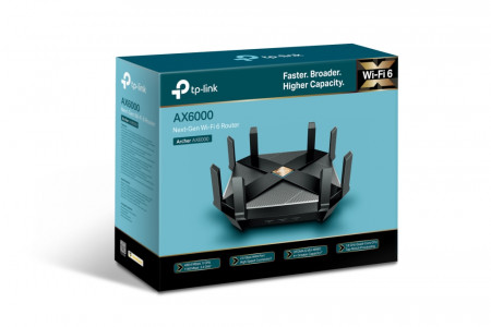 TP-Link brezžični usmerjevalnik Next-Gen AX6000