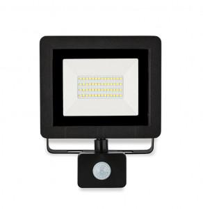 ASALITE LED reflektor 30W 6500K, 2400Lm + senzor