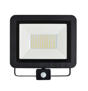 ASALITE LED reflektor 100W 4500K, 8000Lm + senzor