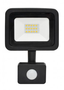 ASALITE LED reflektor 10W 6500K, 800Lm + senzor