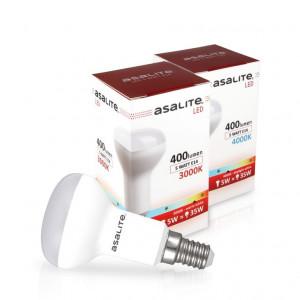 ASALITE LED sijalka E14 R50 5W 3000K 400lm