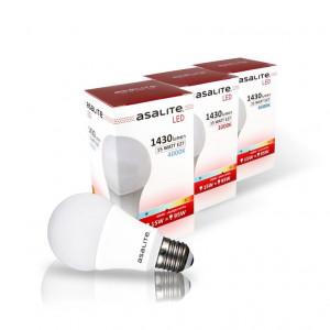 ASALITE LED sijalka E27 15W 6500K 1430lm