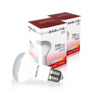 ASALITE LED sijalka E27 R63 10W 3000K 720lm