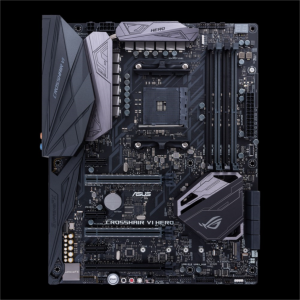 ASUS CROSSHAIR VI HERO, DDR4, SATA3, USB3.1Gen2, AM4 ATX