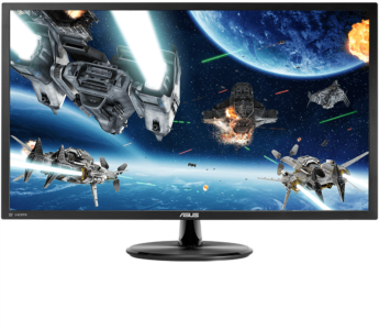 ASUS VP28UQG 28'' 4K UHD monitor, 3840 x 2160, 1ms, DisplayPort
