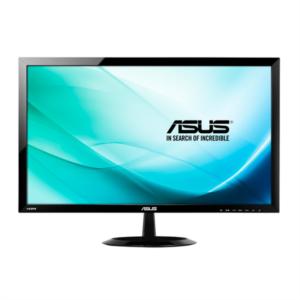 ASUS VX248H 24'' Full HD LED monitor, 80000000:1 ASCR, 1ms, HDMI, zvočniki
