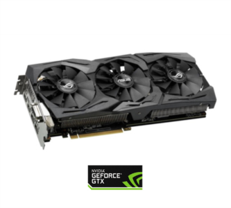 Grafična kartica ASUS GeForce GTX 1060 OC STRIX, 6GB GDDR5, PCI-E 3.0