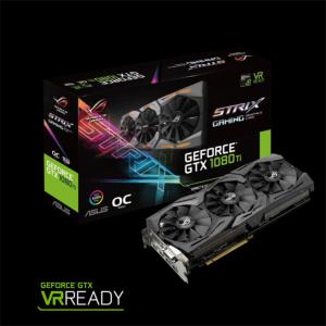 Grafična kartica ASUS GeForce GTX 1080 Ti OC STRIX, 11GB GDDR5X, PCI-E 3.0