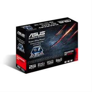 Grafična kartica ASUS Radeon R7 240, 2GB GDDR3, low profile PCI-E 3.0