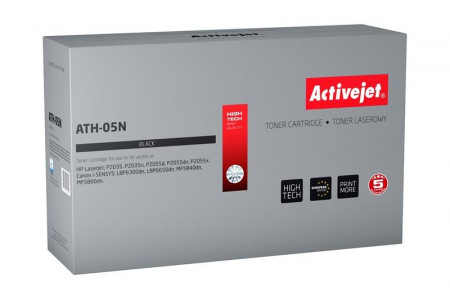 ActiveJet črn toner za HP Canon 05A CE505A