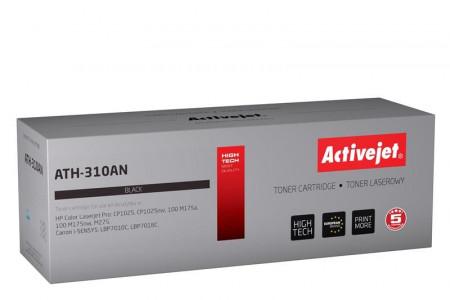 ActiveJet črn toner HP CE310A. Canon CRG-729B