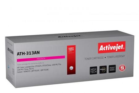 ActiveJet magenta toner HP CE313A. Canon CRG-729M