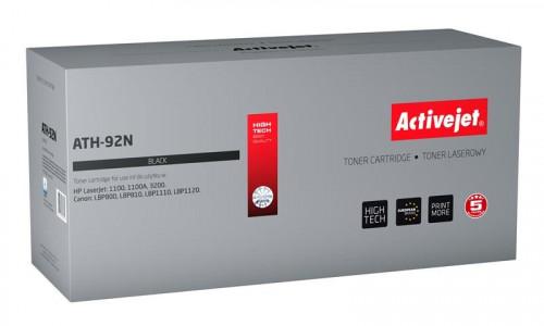 ActiveJet črn toner HP C4092A. Canon EP-22