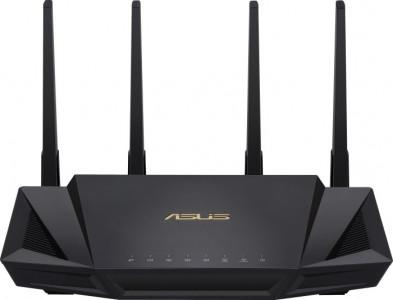 ASUS RT-AX58U Gigabit Dual-Band WiFi 6 AC2402 brezžični usmerjevalnik, 802.11ax/ac/a/g/b/n, 2402+574Mbps