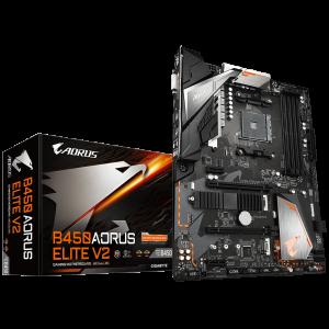 GIGABYTE B450 AORUS ELITE V2, DDR4, SATA3, USB3.1Gen1, HDMI, M.2, AM4 ATX