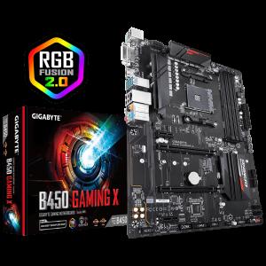 GIGABYTE B450 GAMING X, DDR4, SATA3, USB3.1Gen1, HDMI, AM4 ATX