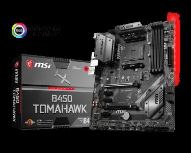 MSI B450 TOMAHAWK, DDR4, SATA3, USB3.1Gen2, HDMI, AM4 ATX