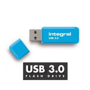 INTEGRAL NEON 32GB USB3.0 moder spominski ključek