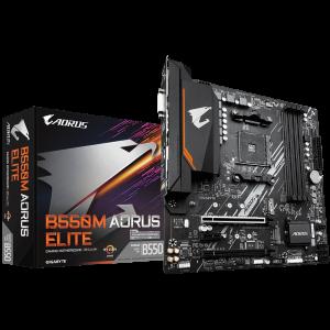 GIGABYTE B550M AORUS ELITE, DDR4, SATA3, USB3.2Gen1, HDMI, AM4 mATX