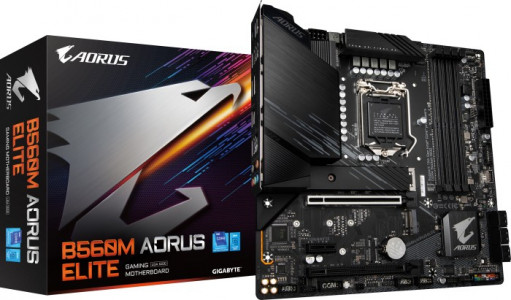 GIGABYTE B560M AORUS ELITE, DDR4, SATA3, USB3.2Gen2, DP, LGA1200 mATX + igra OUTRIDERS