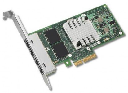 Intel Ethernet Server Adapter I340-T4 mrežna kartica, PCI-Express
